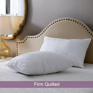 Quilted Firm Pillow (Set of 2)
