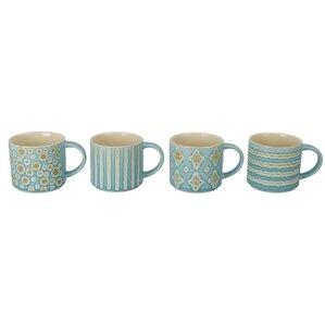 Gale Porcelain Mug (Set of 4)