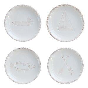 Alyx 4-Piece Canape Plates Set