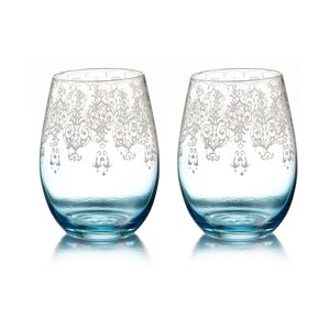 Trina Stemless Wine Glass (Set of 2)