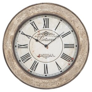 Finn Round Oversized Wall Clock