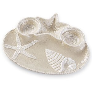 Conner Seashell Chip & Dip Platter