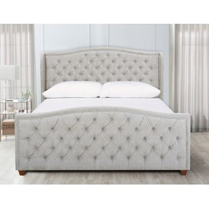 Whitman King Upholstered Panel Bed