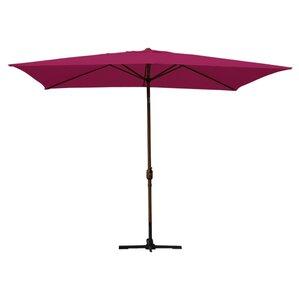 Latashia Rectangular Market Umbrella