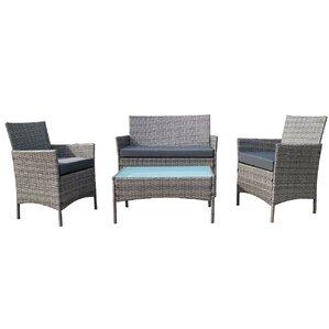 Lamoreaux 4-Piece Deep Seating Group