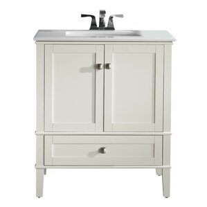 "Oberlin 31"" Single Bathroom Vanity Set"