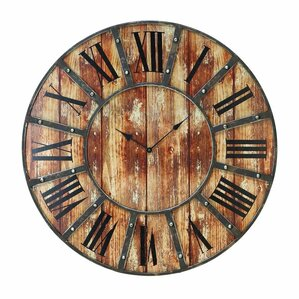 Emme Round Oversized Wall Clock