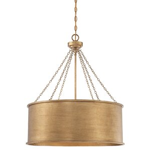 Young 6-Light Drum Pendant