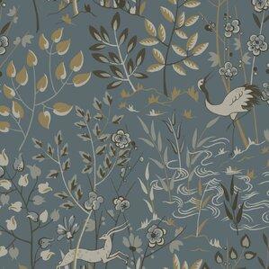 "Liliana 27' x 27"" Aspen Wallpaper"