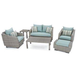 6-Piece Alfredo Patio Seating Group