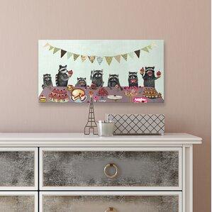 Cupcake Party Canvas Print