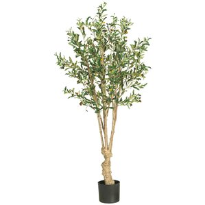 Faux Olive Tree in Pot