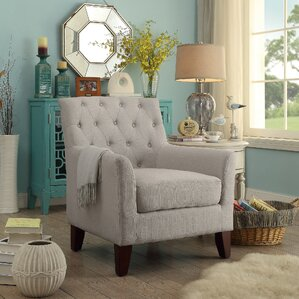 Jill Tufted Arm Chair