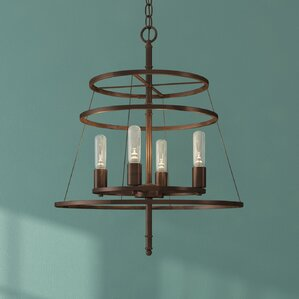 Woodbrige 4-Light Candle-Style Chandelier
