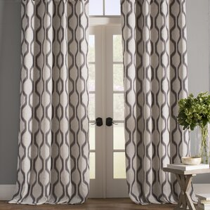 Gray Amp Silver Curtains Amp Drapes Birch Lane