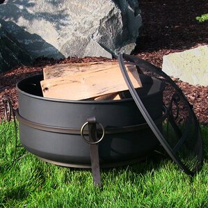Cauldron Steel Wood Fire Pit
