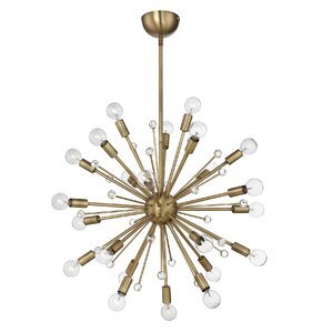 Kathleen 24-Light Sputnik Chandelier