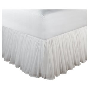Ruffled Cotton Bed Skirt