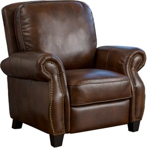 Logan Leather Recliner