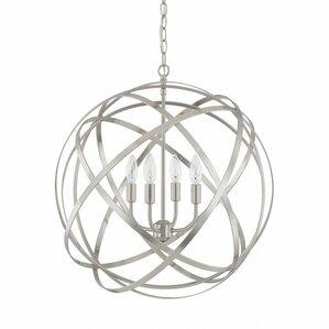 Labat 4-Light Globe Pendant