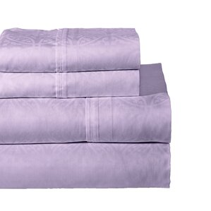 Scrolling 300 Thread Count Cotton Sheet Set