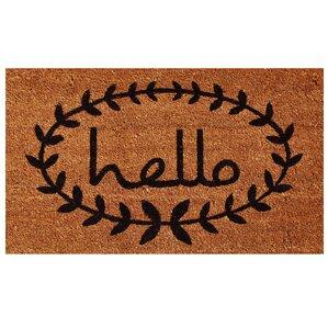 Hello Vine Doormat