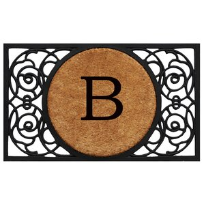 Personalized Fretwork Doormat