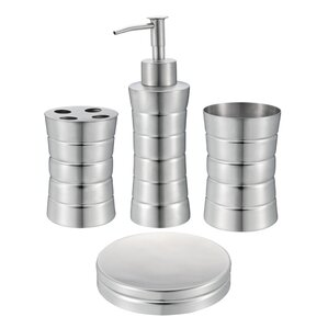 4-Piece Camron Bathroom Accessory Set