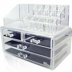 Gemma Jewelry & Cosmetic Storage Display Box Set