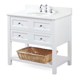 "New Yorker 36"" Single Bathroom Vanity Set"