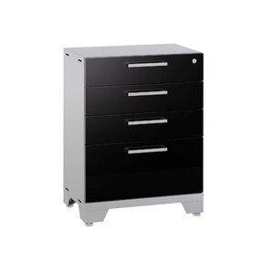"Barclay 35.25"" H x 24"" W x 16"" D Drawer Tool Cabinet"