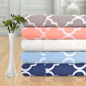 Quatrefoil 300 Thread Count Cotton Sheet Set
