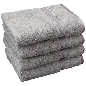 4-Piece Julia Egyptian Cotton Bath Towel Set (Set of 4)