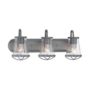 Dansky 3-Light Vanity Light