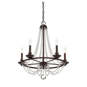 Cole 5-Light Candle Chandelier