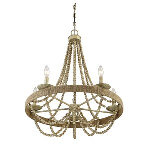 Lantieri 5-Light Candle Chandelier