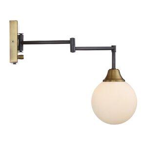 Dorian 1-Light Swing Arm Wall Sconce