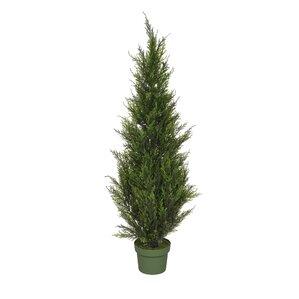 Faux Cedar Tree in Pot
