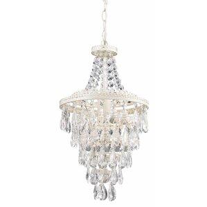 Carnegie 1-Light Crystal Mini Pendant