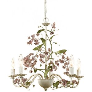 Zia 5-Light Candle-Style Chandelier