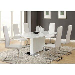 7 Piece Dining Set  White Dining Room