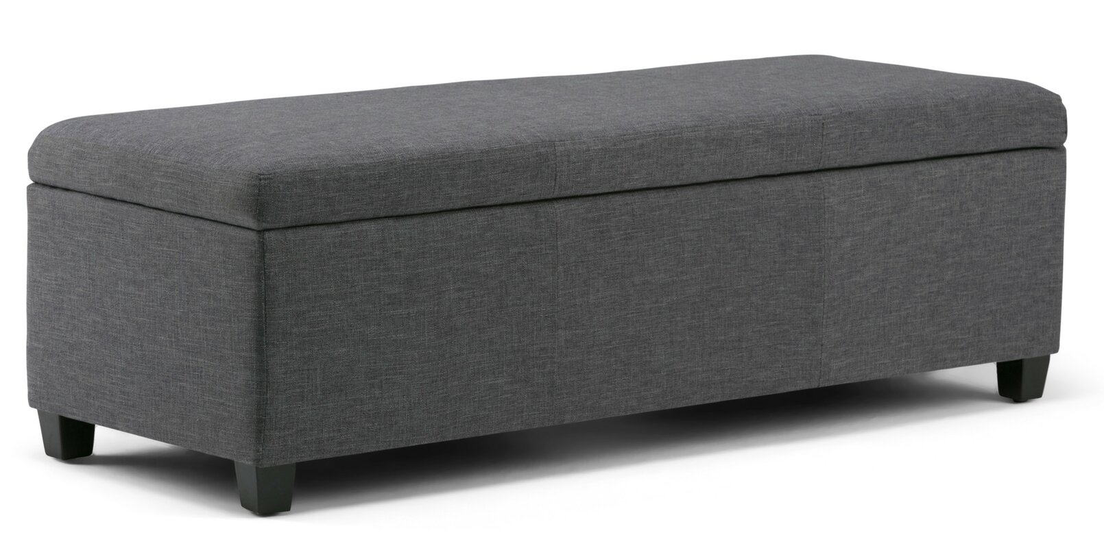 simpli home avalon upholstered storage bench  reviews  wayfair - defaultname