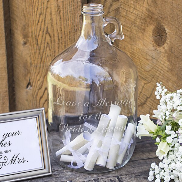 Cathys Concepts Wedding Wishes In A Bottle Guest Book