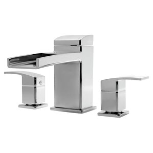 Kenzo Two Handle Deck Mount Roman Tub Faucet Trim