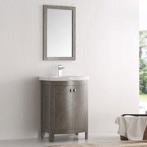 24 inch bathroom vanities you'll love | wayfair
