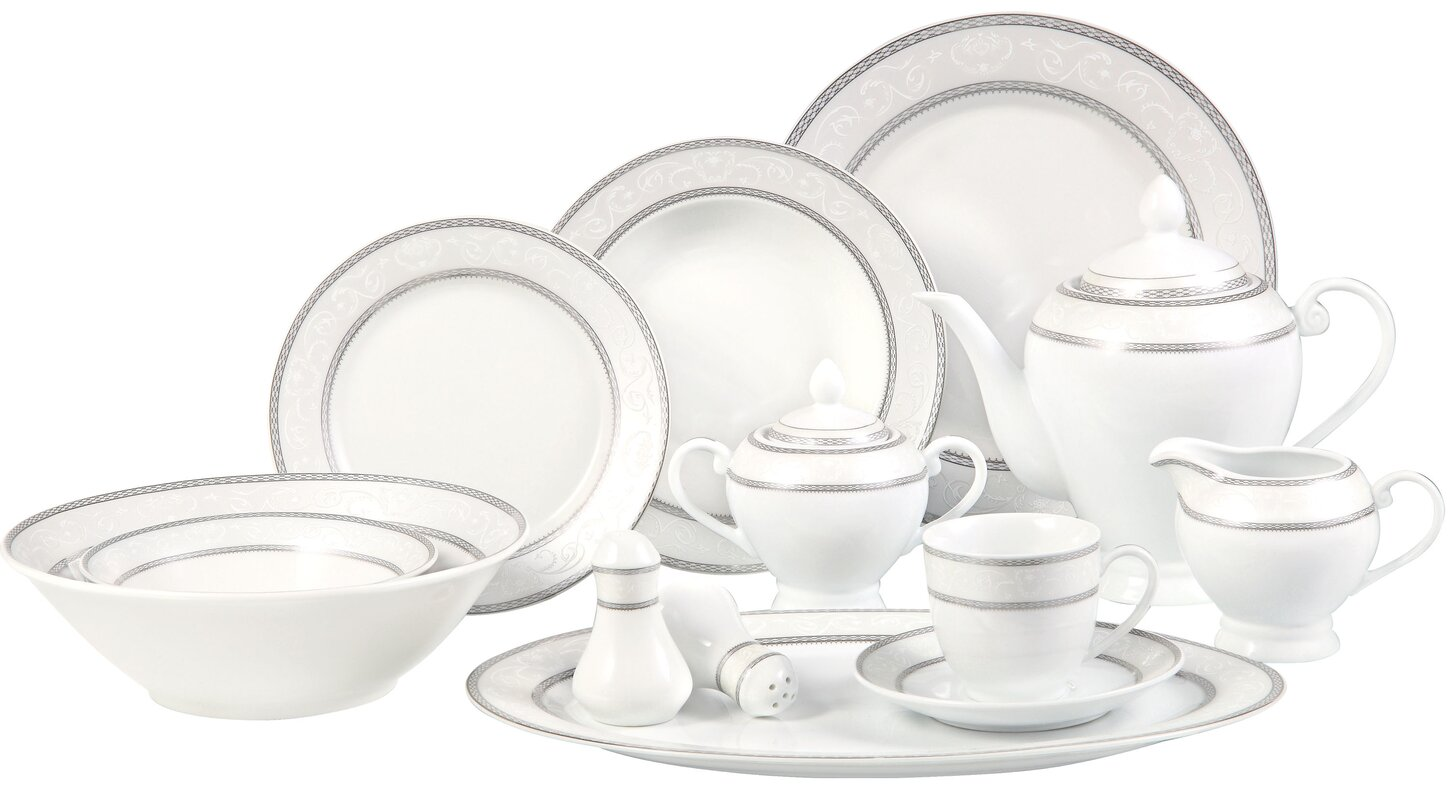 48 piece dinnerware sets  sc 1 st  ambicaengg.com & Dinnerware Sets For 8. Plastic Cheap 4 Piece Dinnerware Set And ...