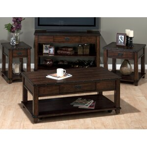 coffee table tv stand set