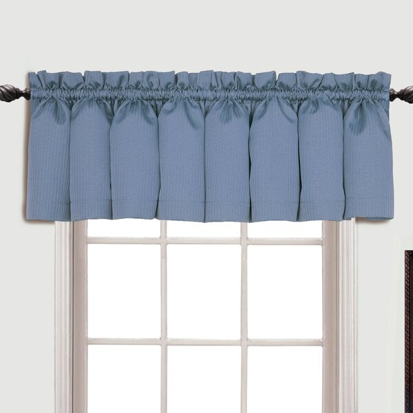 Charlton Home Suzanne Rod Pocket Tailored 54 Curtain Valance