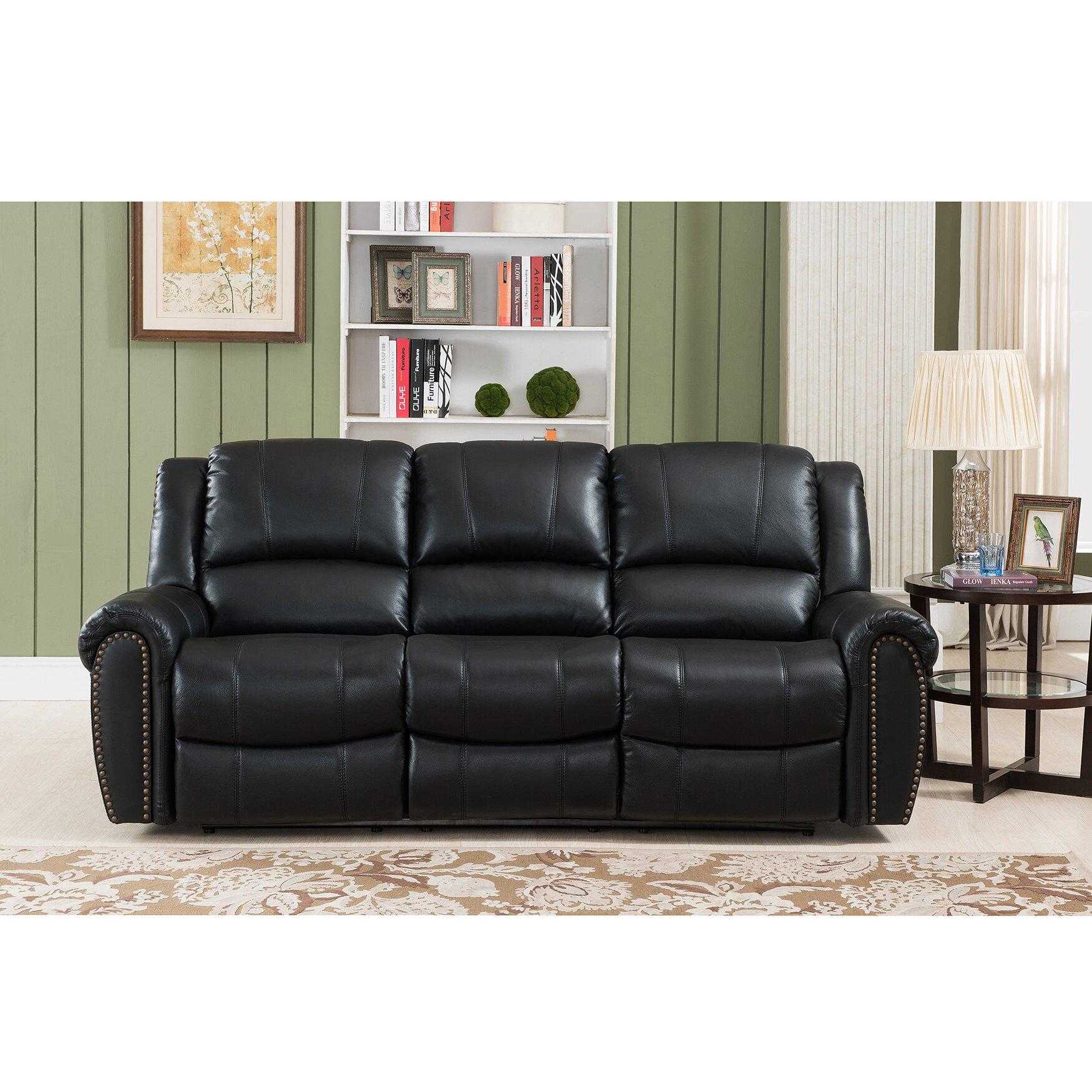 Houston Leather  Piece Living Room Set