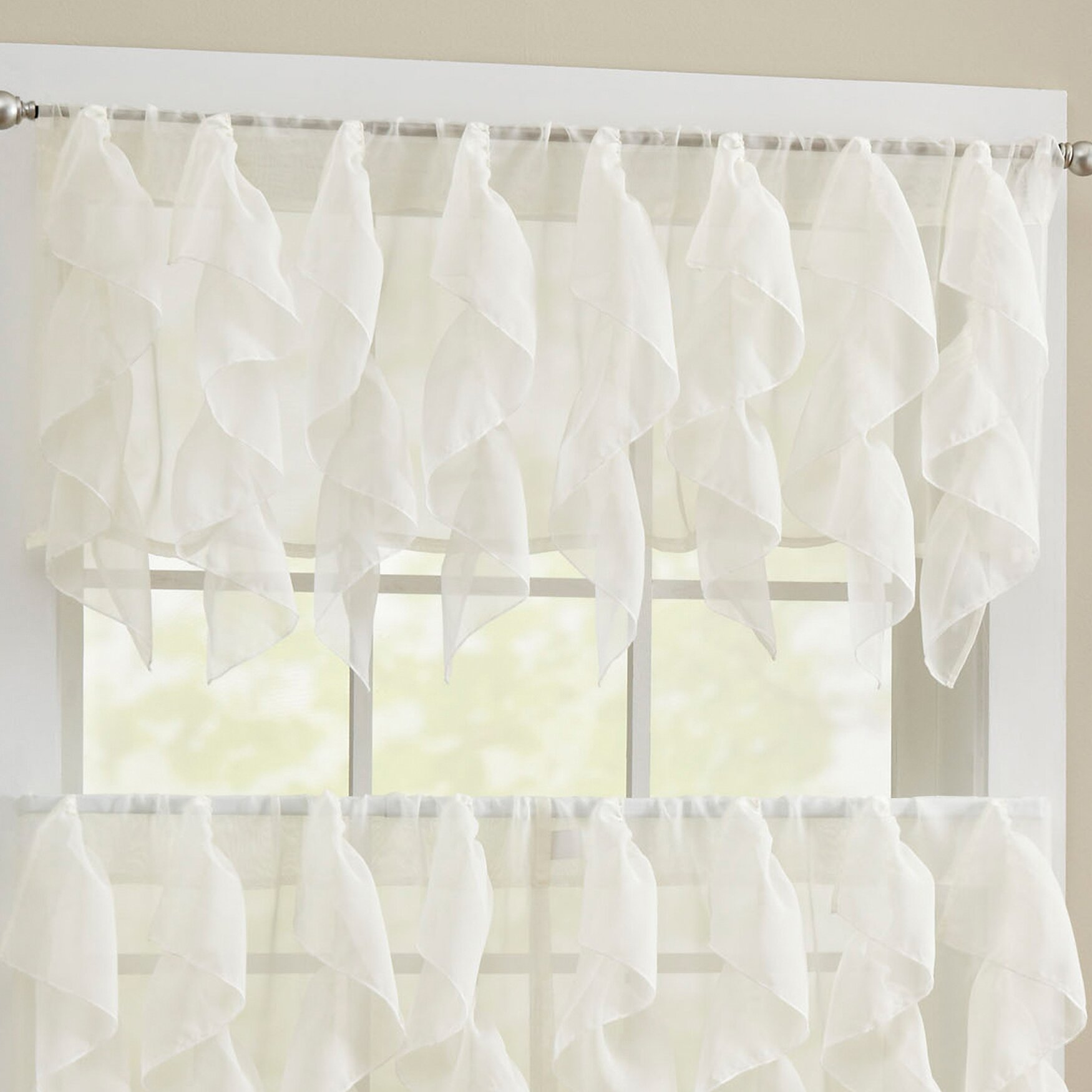 Crochet shower curtains - Crochet Lace Curtain